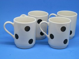 Kate Spade by Lenox All in Good Taste Deco Dot Mugs Set of 4 - $27.12