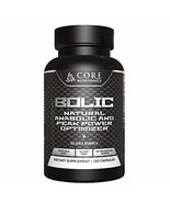 Core Nutritionals BOLIC, Natural Mass Builder with Laxogenin and PeakO2 ... - $52.98