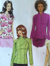 Butterick Sewing Pattern 6134 Misses Ladies Top Size 6-14 New - $17.51