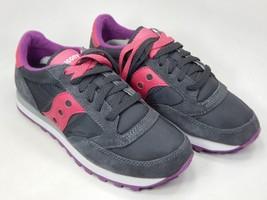 Saucony Jazz O Original S1044-324 Women's Running Shoes Size 7 M (B) EU 38 Grey