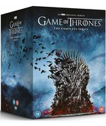 Game Of Thrones The Complete Series: 1-8 DVD (2011-2019) Brand New Free ... - $155.50