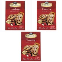 Nonni's Thin Addictives Cranberry Almond Thins 4.4oz ( 3 Pack) - $19.59