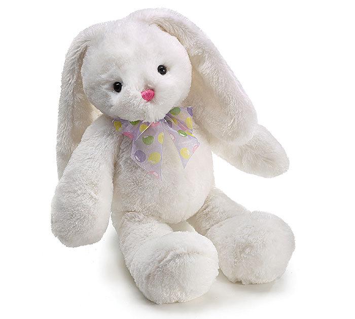 Burton & Burton 18 Isabelle Bunny White Plush