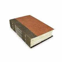Nepali Wayfinder Journal with Extra-Thick Handmade Lokta Paper, 5x8 inch... - $29.77