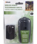 Woods 32555 Weatherproof Outdoor Outlet Wireless Remote Control Converte... - $29.65