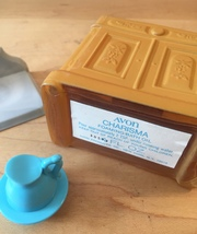 70s Avon Washstand and Pitcher foaming bath oil bottle (Charisma) image 5