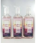 (3) Bath & Body Works Blackberries & Basil Deep Cleansing Gel Hand Soap 8oz - $32.43