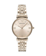 Emporio Armani Ladies Stainless Steel Rose Gold Tone Watch AR11059  - $139.30