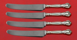 """Chantilly by Gorham Sterling Silver Fruit Knife Set 4-Piece Custom Made 7"""" HH WS - $279.00"""