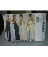 Butterick 6463 Misses Evening Dress & Stole Pattern - Size 6/8/10  - $9.89