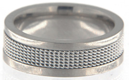 Oxford ivy Men's Base Metal Titanium Wedding band - $19.99