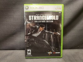 John Woo Presents Stranglehold -- Collector's Edition (Microsoft Xbox 360, 2007) - $13.27