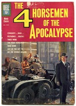 4 Horseman of the Apocalypse- Four Color Comics #1250 1961 G image 1