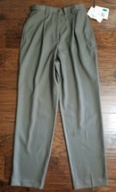 Nwts! Women's Lizgolf By Liz Claiborne gray green Pants Size 6 Msrp$69.0... - $24.74