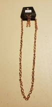 Paparazzi Short Necklace & Earring set (new) #730 TIMELESS BEAUTY - COPPER - $7.61