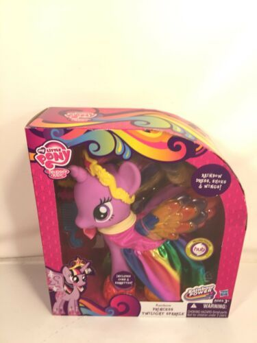 "Primary image for My Little Pony Rainbow Princess Twilight Sparkle Hasbro 2013 10"" Figure"