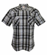 NEW LEVI'S MEN'S CLASSIC COTTON CASUAL BUTTON UP PLAID OLIVE GREEN 3LYSW6082