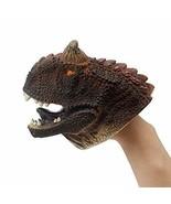 Carnotaurus Dinosaur Realistic Soft Plastic Hand Puppet Toy for Kids - $13.85
