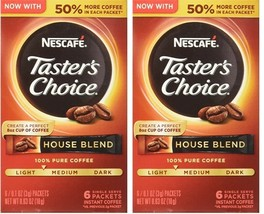 NESCAFE TASTER'S CHOICE House Blend Instant Coffee - $10.91