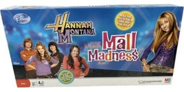 2008 Mall Madness Hannah Montana Game by Milton Bradley Complete Mint Open Box - $49.40