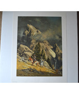 Frank McCarthy Crossing the Divide Artist Proof LE SN Paper Print 10/60 ... - $490.05
