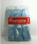 FAIRWAY PROFESSIONAL GOLF ACCESSORIES 3 COVERS GOLF CLUBS BLUE WHITE  BG... - $6.85