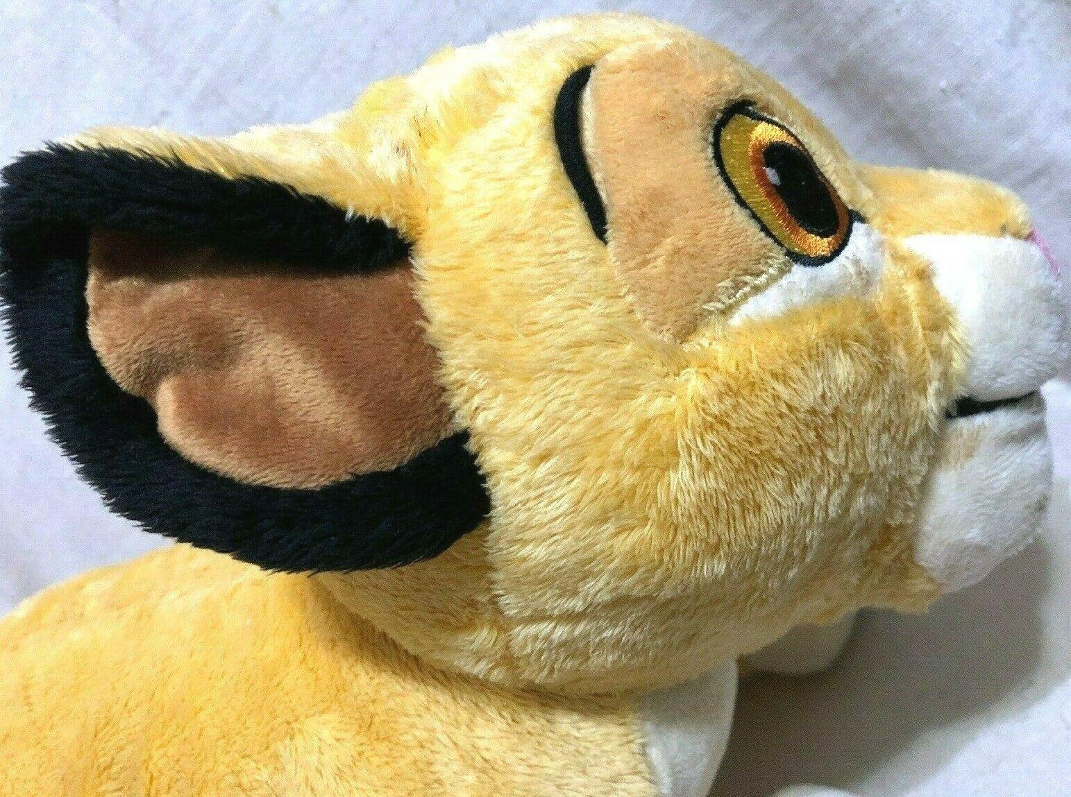 "Lion King Disney Store Baby Simba 13"" Soft Plush Stuffed Animal Used with tag"