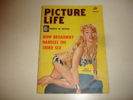 PICTURE-LIFE-Vol-1-2-March-1954-Vtg-Mini-Magaz... - $12.95