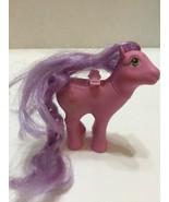 Vintage 1986 Lily Flutter My Little Pony Pink Lavender Mane No Wings - $7.69
