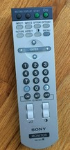 Sony RM-980 Tv Monitor Remote Control - $9.99