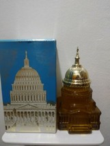 Vintage 1970 AVON The Capitol Tribute After Shave 5 oz New with Box - $4.95