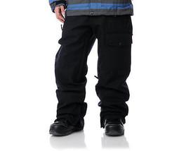 Aperture Undercut Pants Mens Snowboard Ski 10k Waterproof Cargo Black L XL - $92.76