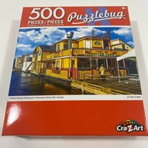 BRAND NEW Puzzlebug 500 Piece Puzzle - Floating Mexican Restaurant BC Ca... - $9.70
