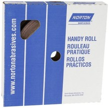 "Norton K225 Metalite Abrasive Roll, Cloth Backing, Aluminum Oxide, 1"" Wi... - $31.48"