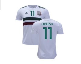 NWT MÉXICO WORLD CUP CARLOS VELA FAN AWAY JERSEY  - $54.99
