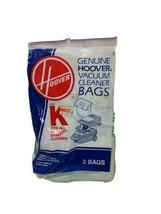 Pack of 3 Genuine Hoover Vacuum Cleaner Bags Type K Spirit Cleaners - $4.89