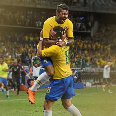 4deb24c7836 NIKE P. COUTINHO BRAZIL VAPOR MATCH AUTHENTIC HOME JERSEY FIFA WORLD CUP  2018.