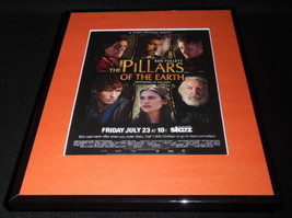 Pillars of the Earth 2010 Framed 11x14 ORIGINAL Advertisement Starz E Re... - $22.55