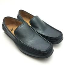 JF J Ferrar Driving Loafers Mens Black Slip On Shoes Size 10.5 M - $27.37