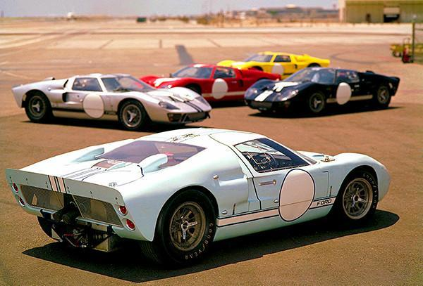 Primary image for 1966 Ford GT MK II - Photo Poster