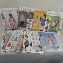 Lot of 12 McCall's Sewing Patterns Children's Male and Female Fashion Un... - $21.17