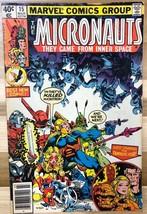 MICRONAUTS #15 (1980) Marvel Comics VG - $9.89