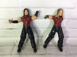 Titan Tron Jakks Pacific WWE Hardy Boys Jeff Matt Action Figures Wrestli... - $19.79