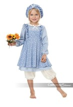 California Costumes Little Prairie Girl Blue Dress Halloween Costume 00188 - $40.38