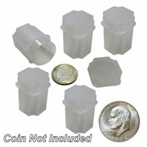 Large Dollar Square Coin Tubes by Guardhouse, 38mm, 5 pack - $6.75