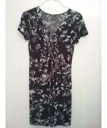 Daisy Fuentes Women's Medium Slimming Twist Front Maxi Dress - $11.00
