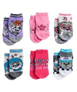 PAW PATROL SKYE NICKELODEON 6-Pack Low Cut Socks Girls Ages 2-4 (Toddler... - $9.99
