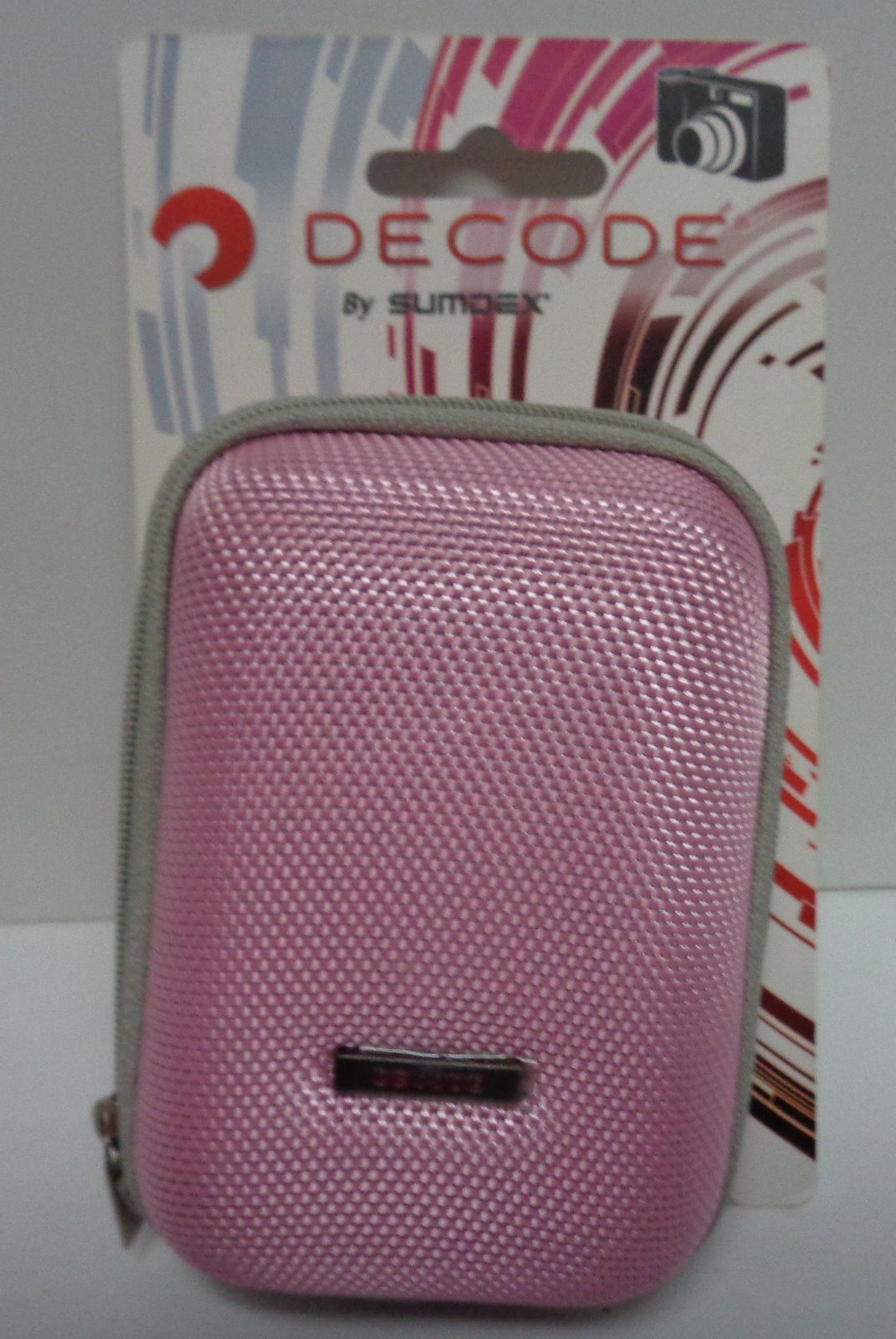 Decode Camera Case Hard Cover Pink NWT by Sumdex