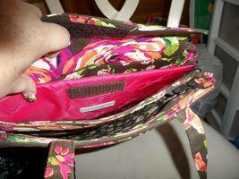 Vera Bradley laptop Travel Tote In English Rose image 4
