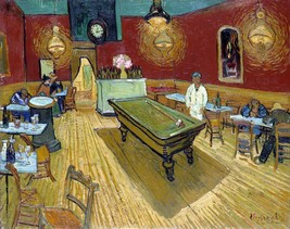 "Le cafe de nuit ""The Night Cafe"" Painting by Vincent van Gogh Art Reprod... - $32.99+"